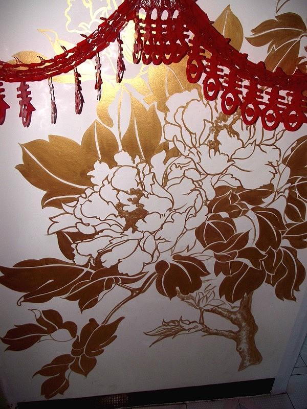 绘制墙绘只需要几个简单的步骤就可以完成
